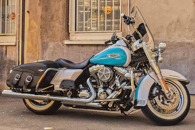 Brugte motorcykler Harley Davidson USA-importen.