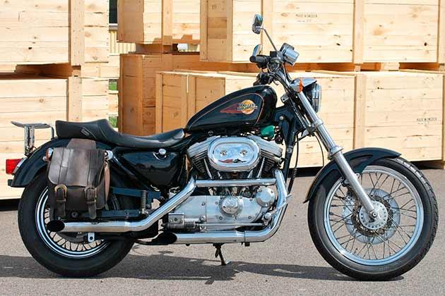 Harley Davidson klassisk MC USA-importen.