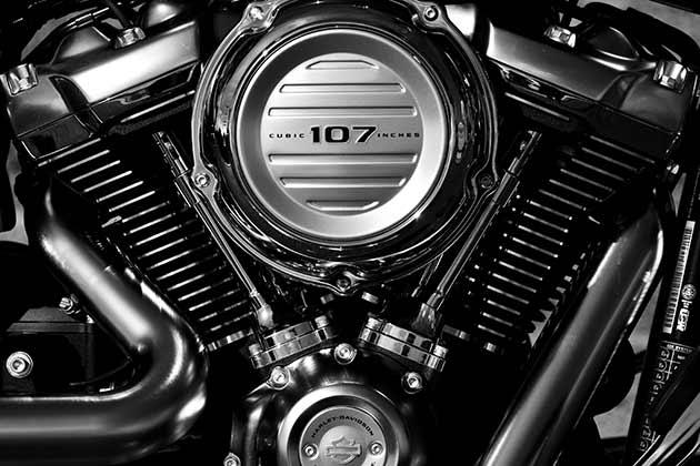 Harley Davidson modeller USA-importen.