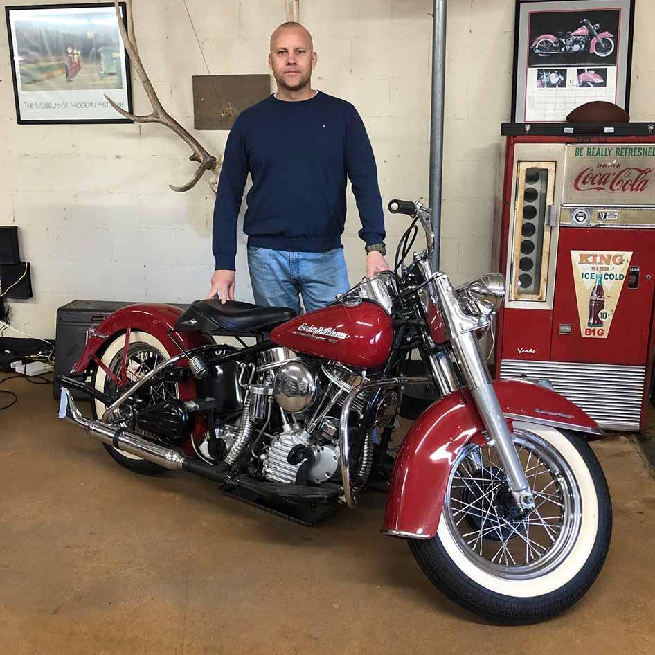 Import af bugte motorcykler fra USA, Thomas Lindow USA-importen.